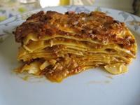 Lasagne bolognesi - 2 portioner