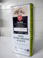 Extra jungfru olivolja Casa Rossa från Lazio - 5lt dunk