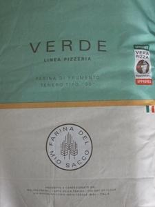 Pasini pizzamjöl - Linea verde - 1kg säck