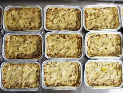 Lasagne med svamp - 2 portioner