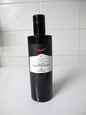 Extra jungfru olivolja och chili - 500ml flaska