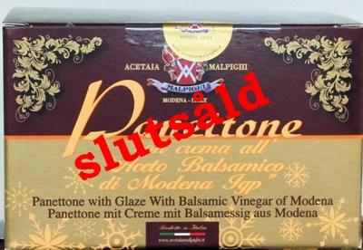 Panettone med kräm av balsamvinäger IGP från Modena - 1kg