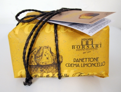 Panettone med limoncello kräm - 500g handinslagen