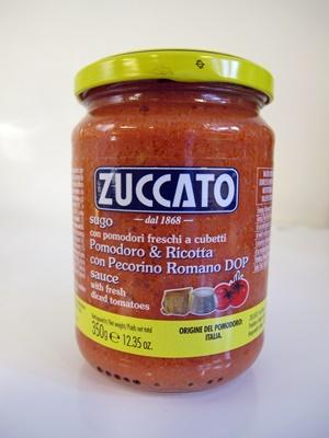 Tomat & ricotta med pecorino romano DOP sås - 350g glasburk