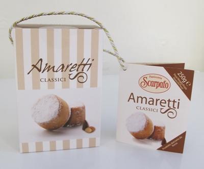 Amaretti classici - 250g/påse