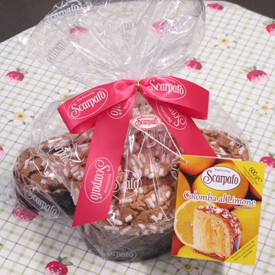 Colomba med citron - 600g