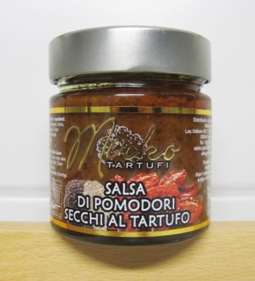 Sås med torkade tomater och tryffel 80g/glasburk