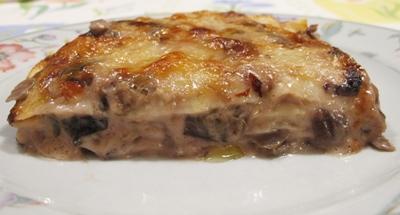 Alla hjärtans lasagne - 2 portionform