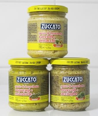 Pesto från Zuccato - 190g glasburk