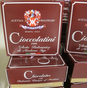 Balsamvinäger choklad - 120g låda