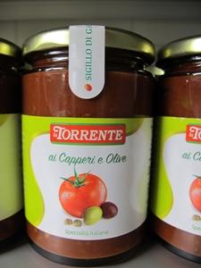 Capperi e olive sås